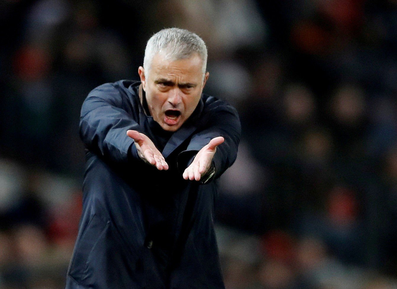 BLIR VÆRENDE: Manchester United-manager José Mourinho blir værende i klubben, fastslår «superagent» Jorge Mendes.