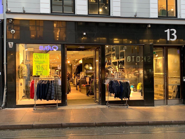 05ec5f28 BORTE: Lokalet til Tennis i Grensen inneholder nå en pop-up-butikk.