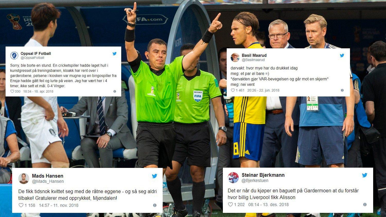 1ce642fb SKRÅBLIKK: Idrettsåret 2018 har levert - også på Twitter.