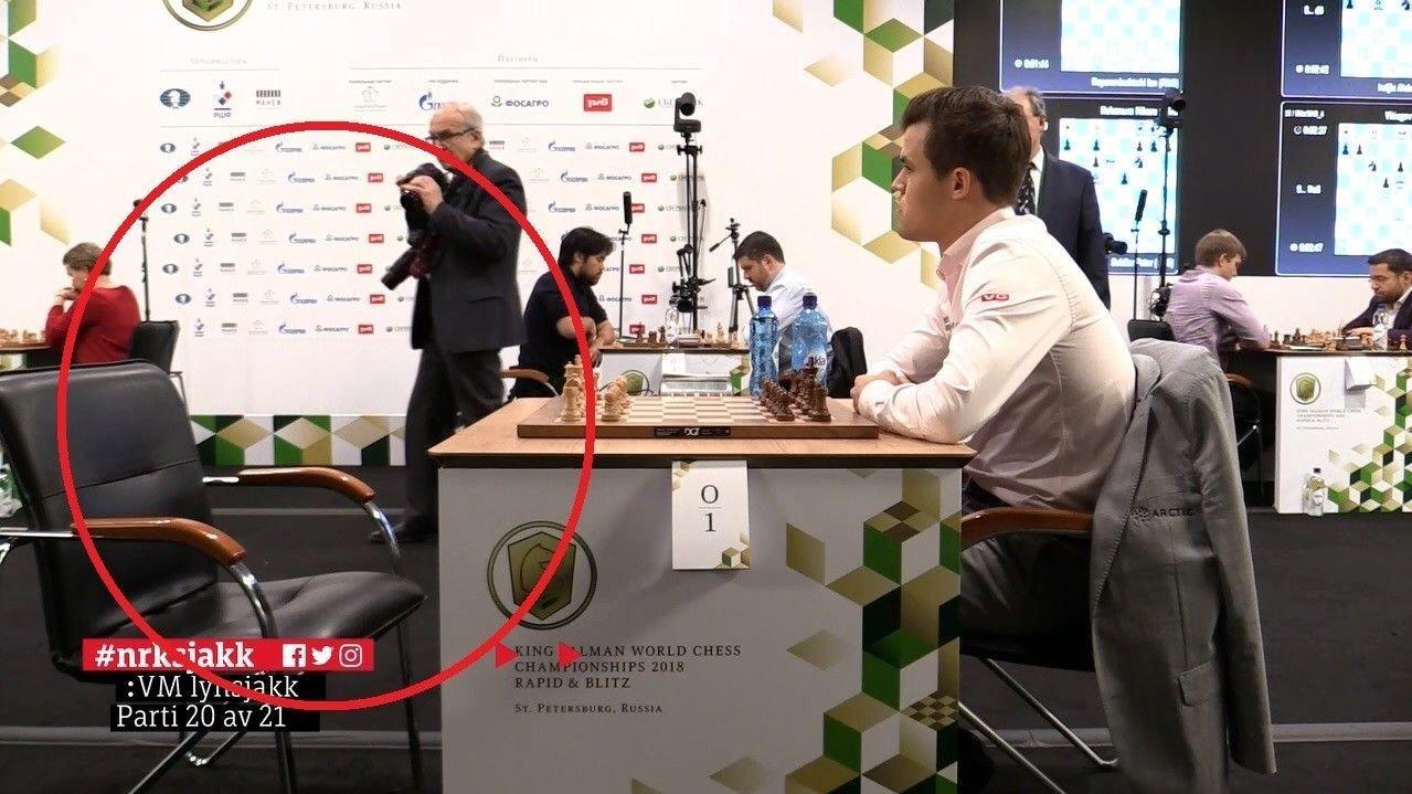 SAVNET: Magnus Carlsens motstander kom alt for seint til det 20. partiet.