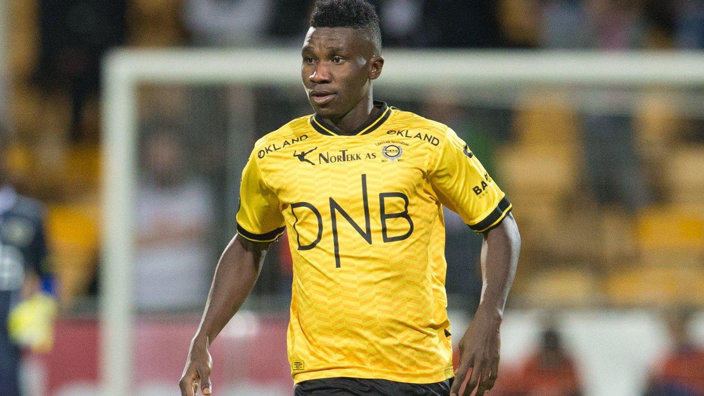 PÅ VEI BORT: Ifeanyi Mathew har trolig spilt sin siste kamp for Lillestrøm.
