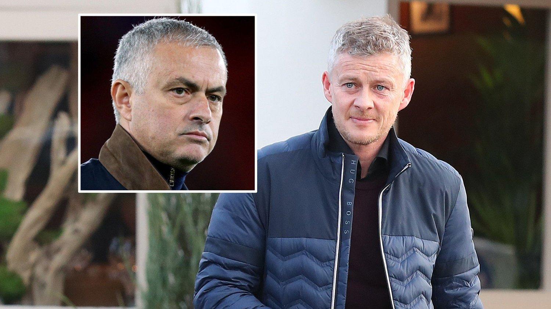 STOR FORSKJELL: Manchester United har ikke tapt under Ole Gunnar Solskjærs ledelse, mens det så langt tyngre ut mot slutten av Jose Mourinhos tid i klubben.