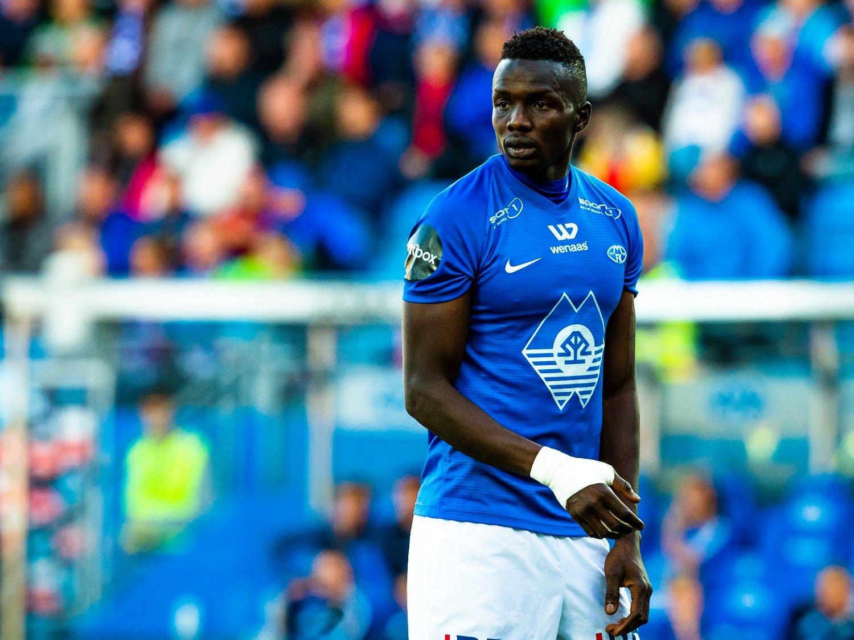 KLAR FOR NY KLUBB: Babacar Sarr fortsetter karrieren i russisk fotball.