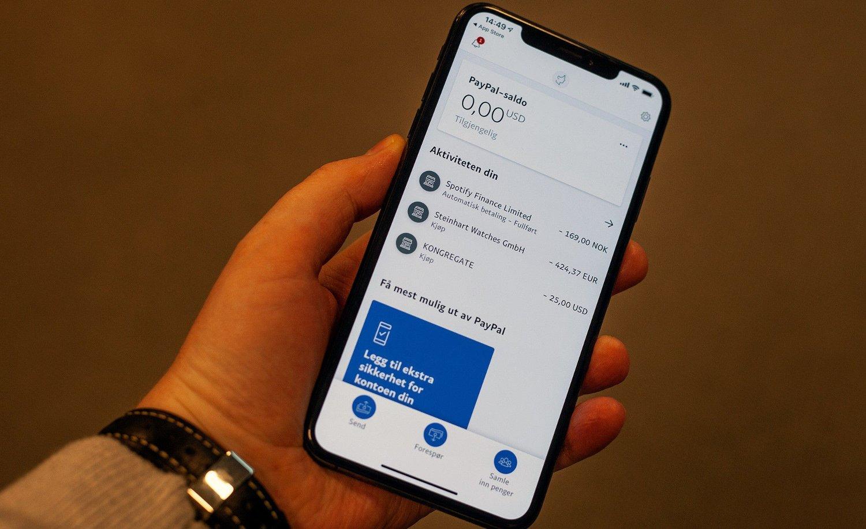17b55372 Paypal har lansert en direkte konkurrent til Vipps - og lokker med  overføringer helt uten gebyr