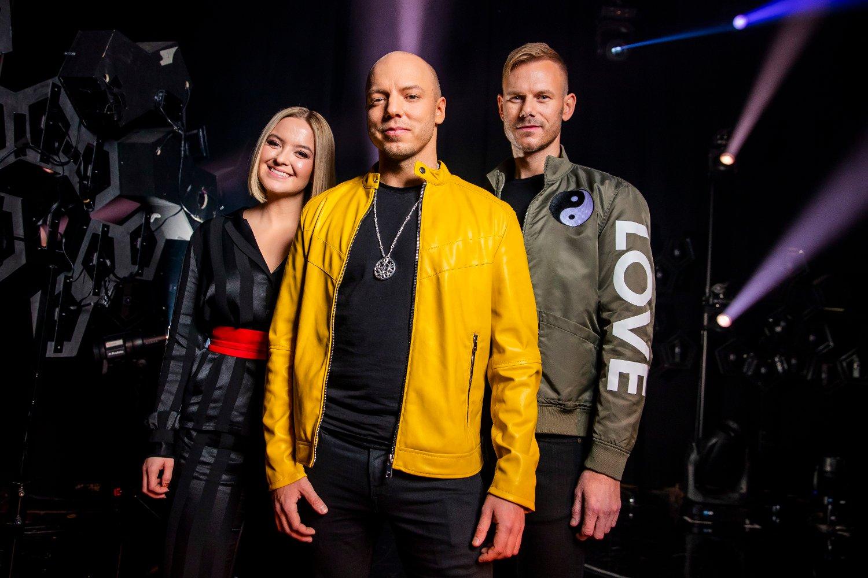 FINALISTER: KEiiNO består av Alexandra Rotan (fra venstre), Fred Buljo og Tom Hugo.