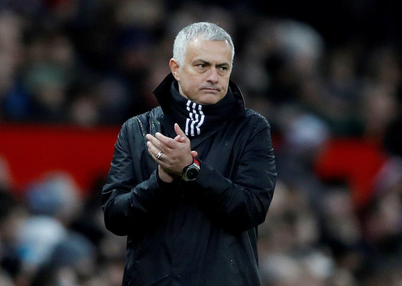 STIKK MOU UNITED: Tidligere manager José Mourinho.