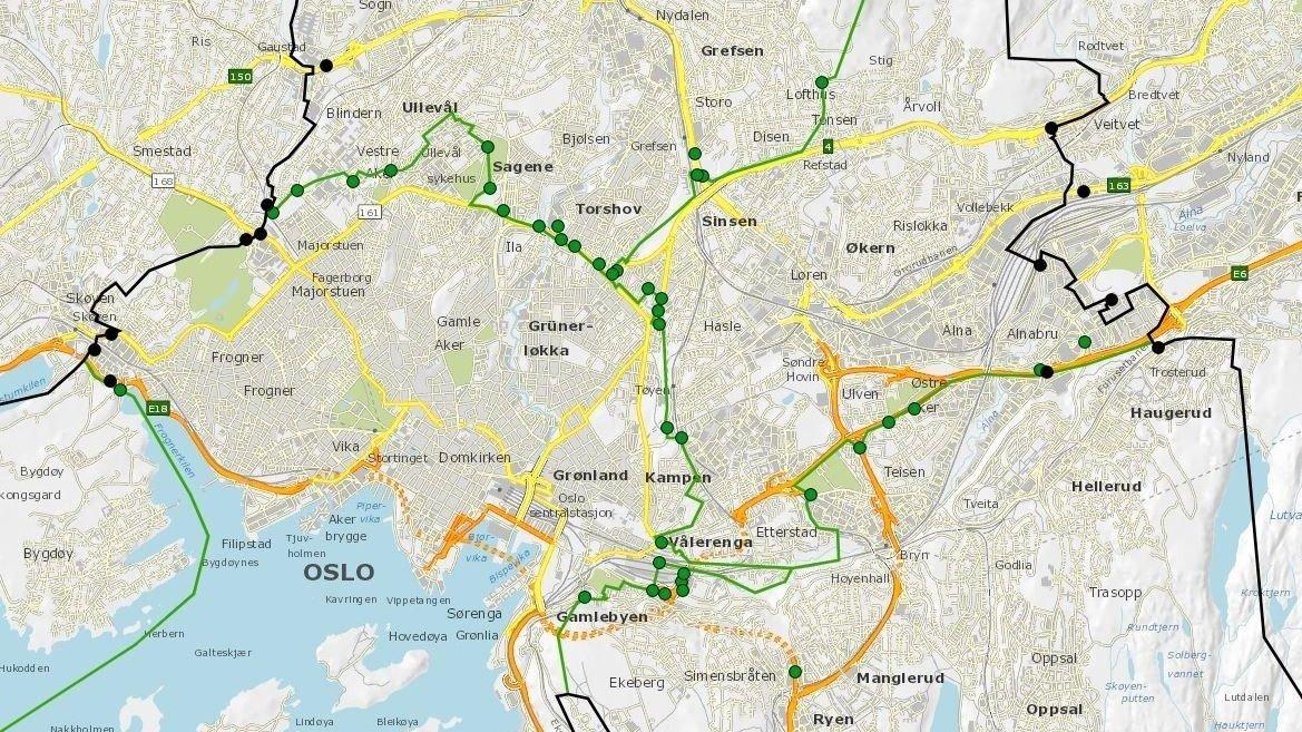 Bompenger Bomstasjoner Na Kommer 53 Nye Bomstasjoner I Oslo Og