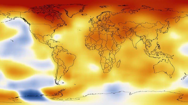 REKORDVARMT: Det har aldri vært varmere på kloden siden vi startet målingene i 1850 enn det er i dag.