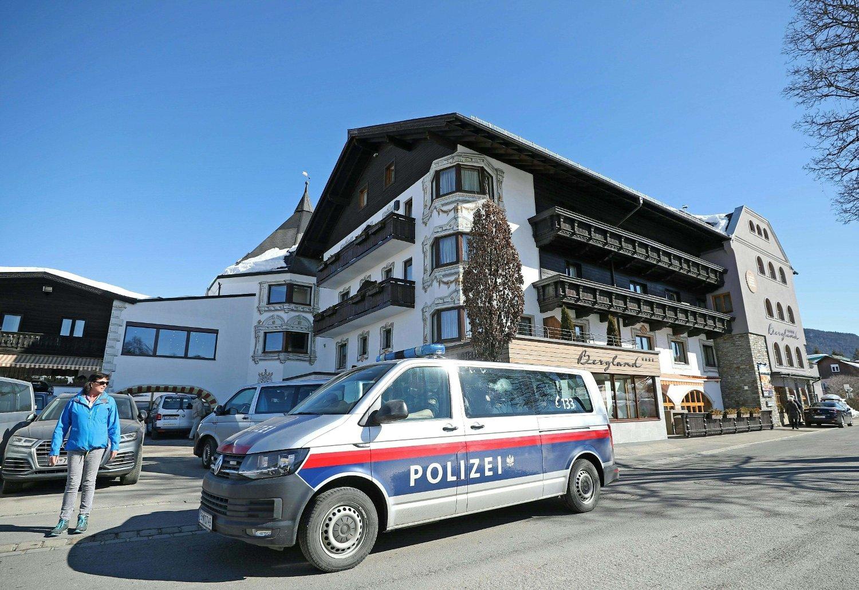 SKANDALE: Det var på dette hotellet i Seefeld at dopingskandalen under VM ble rullet opp. Nå kommer det fram at legen Mark Schmidt i fjor skal ha leid et hus på Lillehammer.