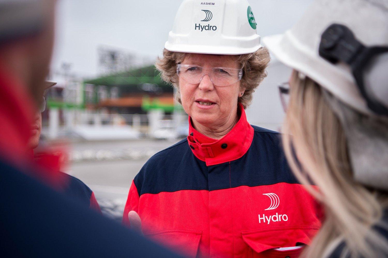 Slik ser hun ut, den nye toppsjefen i Hydro, Hilde Merete Aasheim.