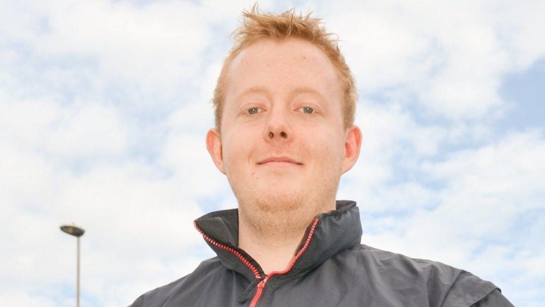 ANMELDT: Adrian Ness Løvsjø er anmeldt for underslag hos sin tidligere arbeidsgiver