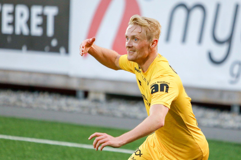 SCORET TO: Bodø/Glimts Geir André Herrem.