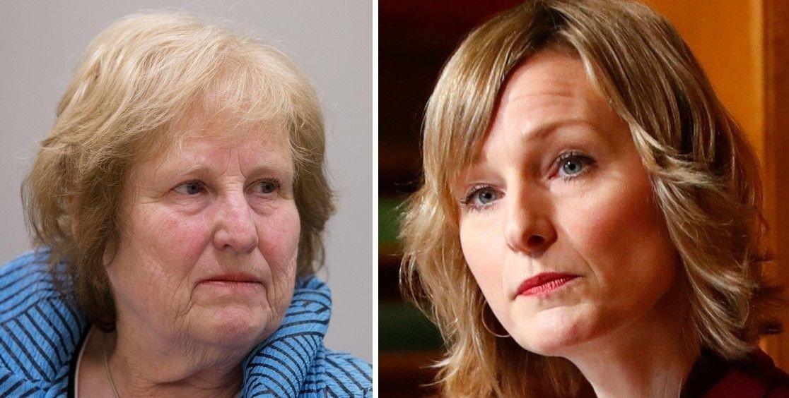 Voldsforsker Ragnhild Bjørnebekk (til vesntre) mener oslobyråd Inga Marte Thorkildsens (SV) kritikk av politiet er skivebom.