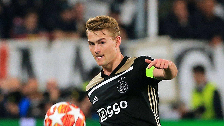 Barcelona-aktuell: Kaptein Matthijs de Ligt har storspilt for Ajax denne sesongen.