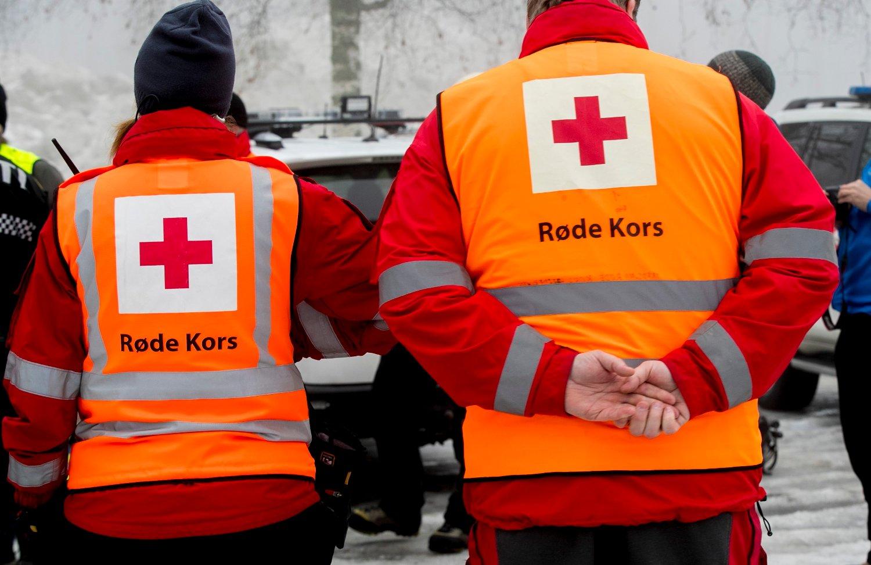 Røde Kors har behandlet under halvparten så mange skader i løpet av årets påske som i fjor. Her fra en øvelse på Sognsvann i Oslo tidligere i år. Foto: Vidar Ruud / NTB scanpix