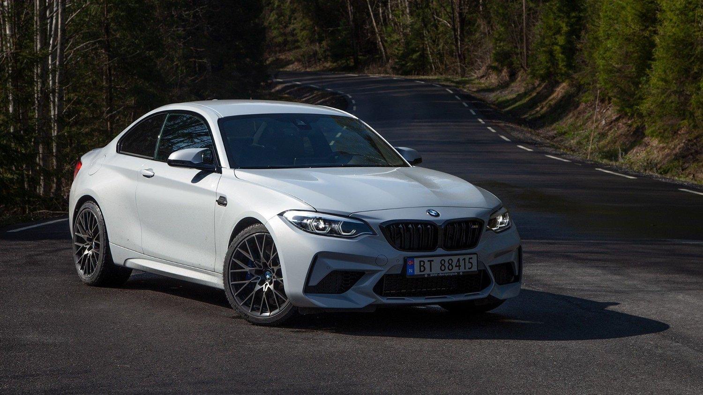 NÆR PERFEKT: Med M2 Competition har BMW laget nærmest definisjonen på sitt eget motto: The ultimate driving machine.