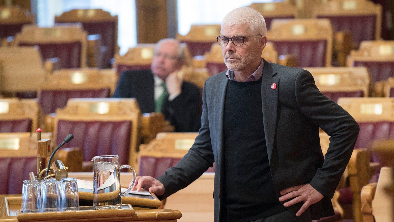 Petter Eide (SV) mener Frp-leder Siv Jensen «lyver og jukser» om kriminalitetsutviklingen i Oslo. Foto: Vidar Ruud / NTB scanpix