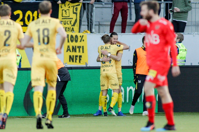 RUNDSPILT: Bodø/Glimt knuste Lillestrøm på Aspmyra.