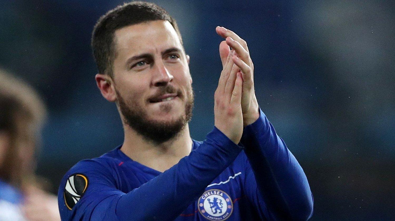 PÅ VEI BORT: Eden Hazard kan snart bytte ut England med Spania.