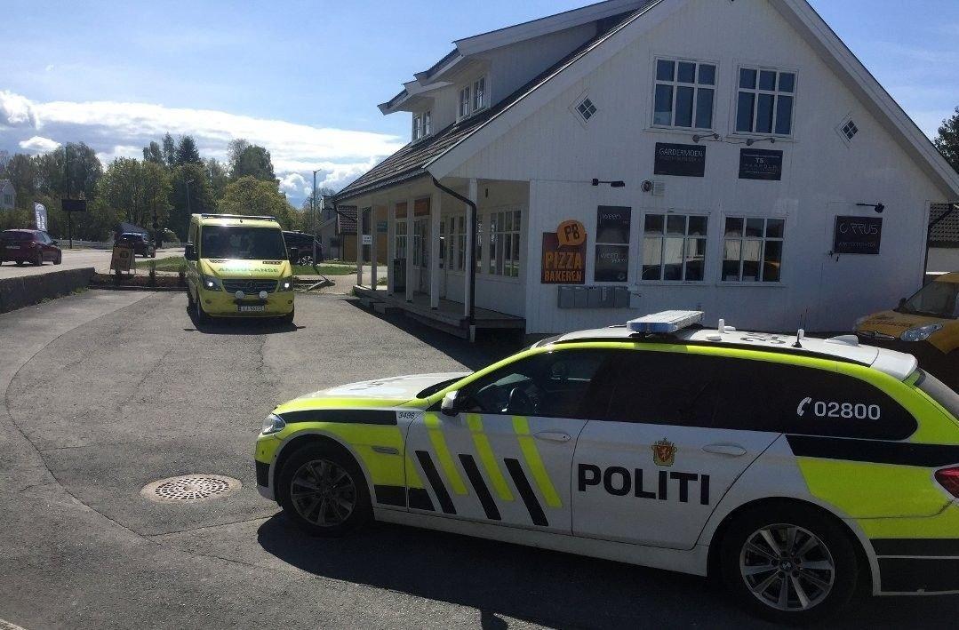 RAN: Pizzabakeren på Jessheim ble onsdag formiddag ranet med kniv.