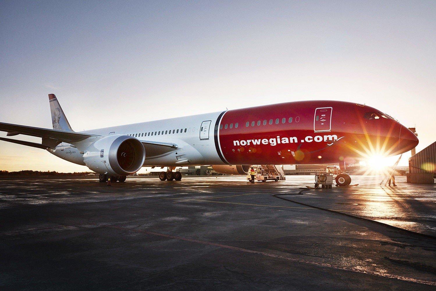 OPP 19 PROSENT: Norwegian-aksjen skyter i være på Oslo Børs torsdag etter nye oppkjøpsrykter.