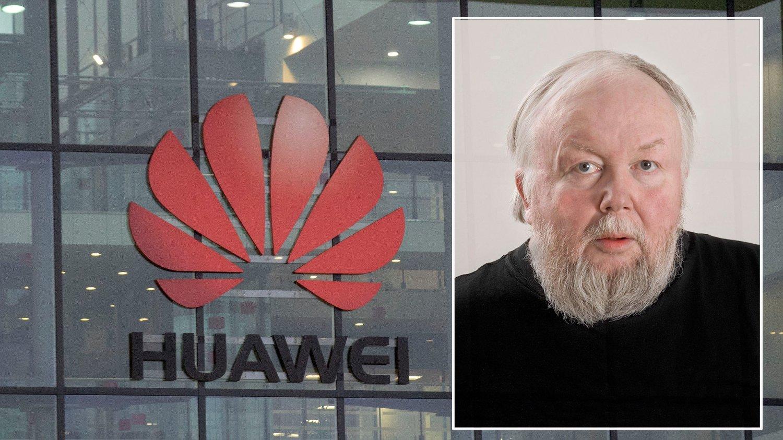 VANSKELIGHETER. Dataekspert og universitetslektor Gisle Hannemyr tror Huawei står overfor store kortsiktige vanskeligheter når tilgangen til amerikanske databrikker tar slutt.