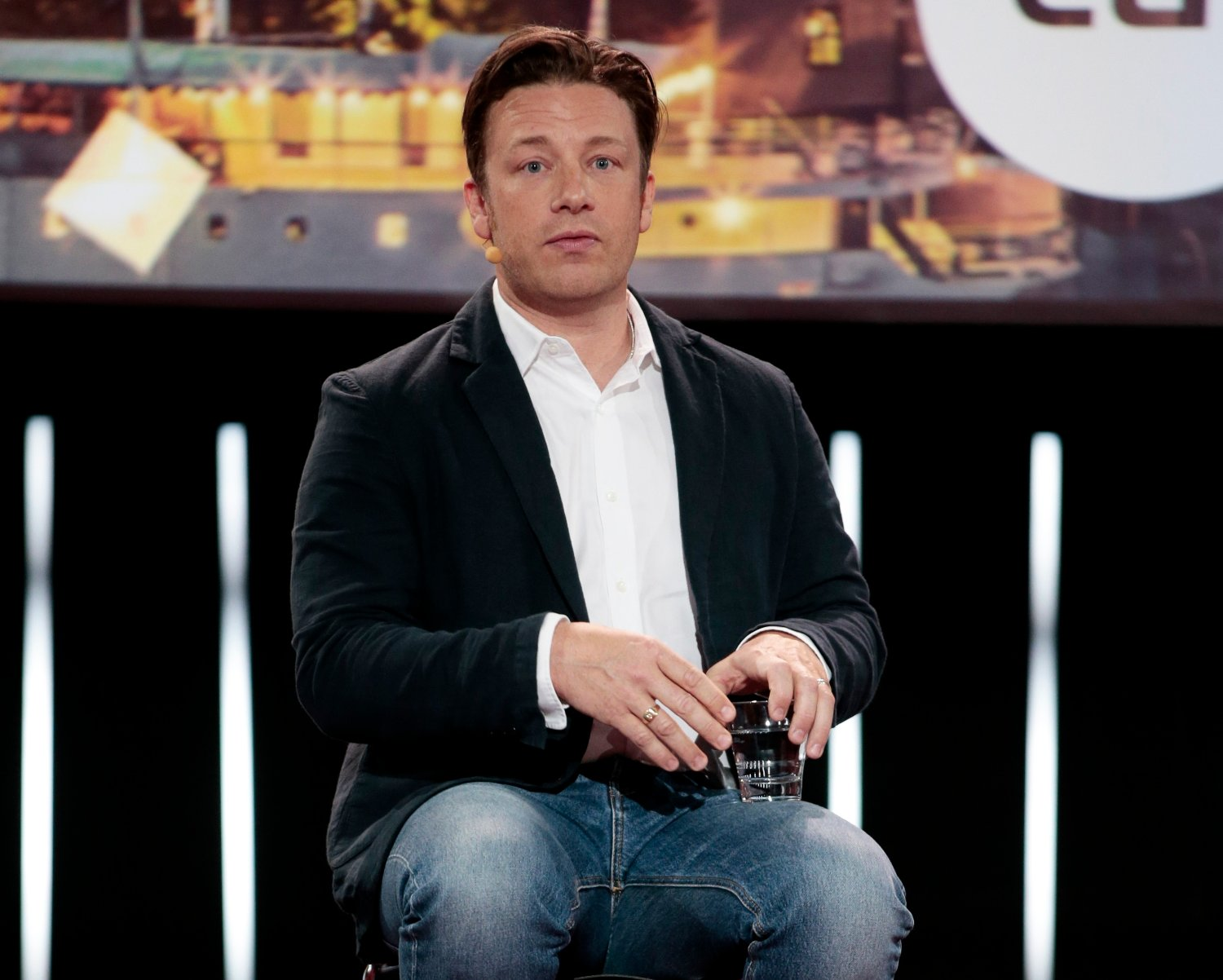 Jamie Oliver under EAT Stockholm Food Forum i 2016. Foto: Lise Åserud / NTB scanpix
