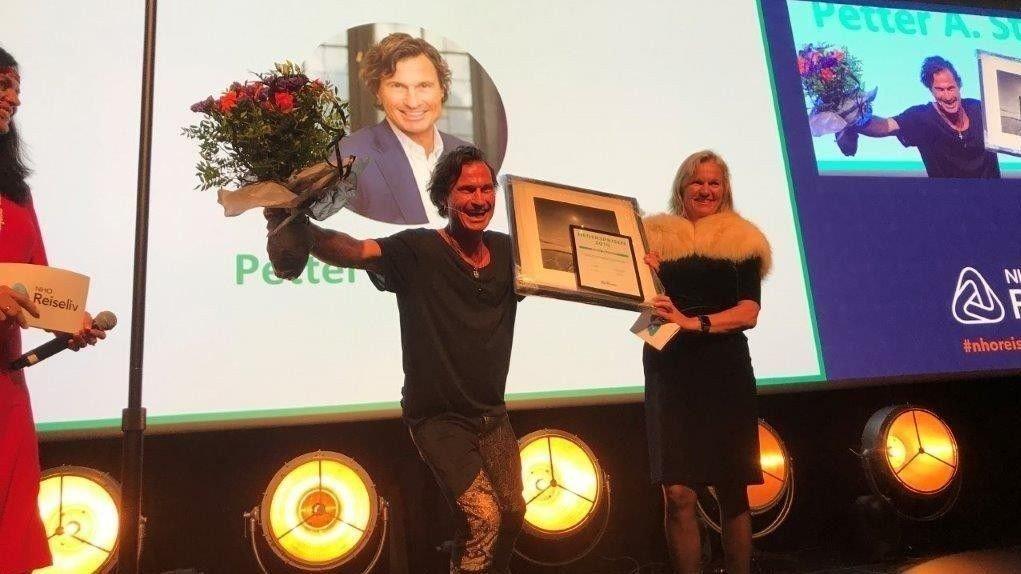 UTDELT PRIS: Petter Stordalen har blitt tildelt NHO Reiselivs Hederspris.