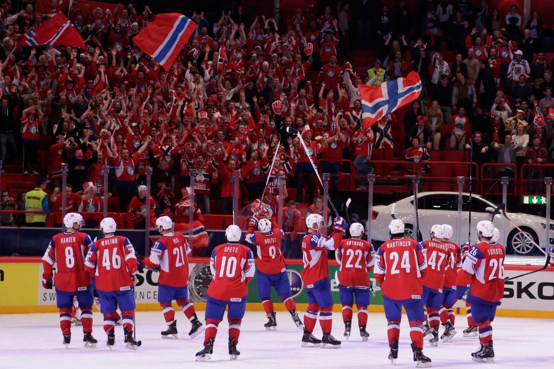 Ishockey-VM skal tilbake til Sverige i 2025. Foto: Håkon Mosvold Larsen / NTB scanpix
