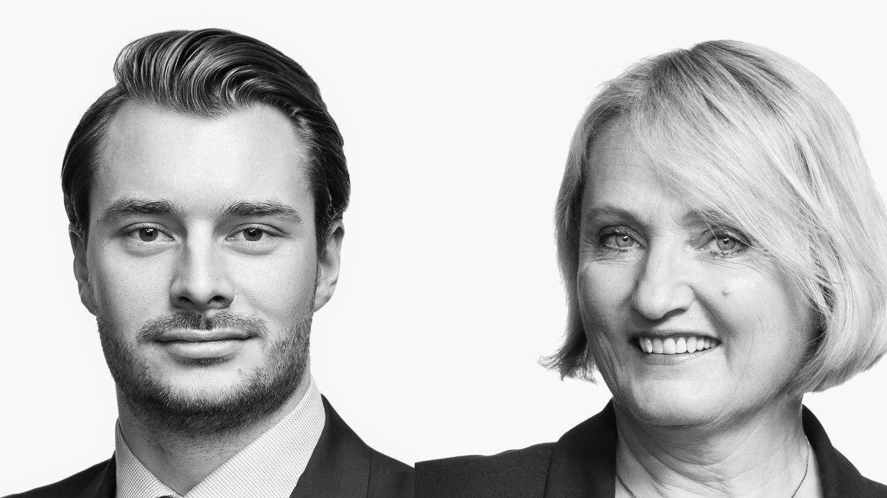 Advokatfullmektig Magnus Hagem og arveekspert Randi Birgitte Bull hos advokatfirmaet Bull & CO.