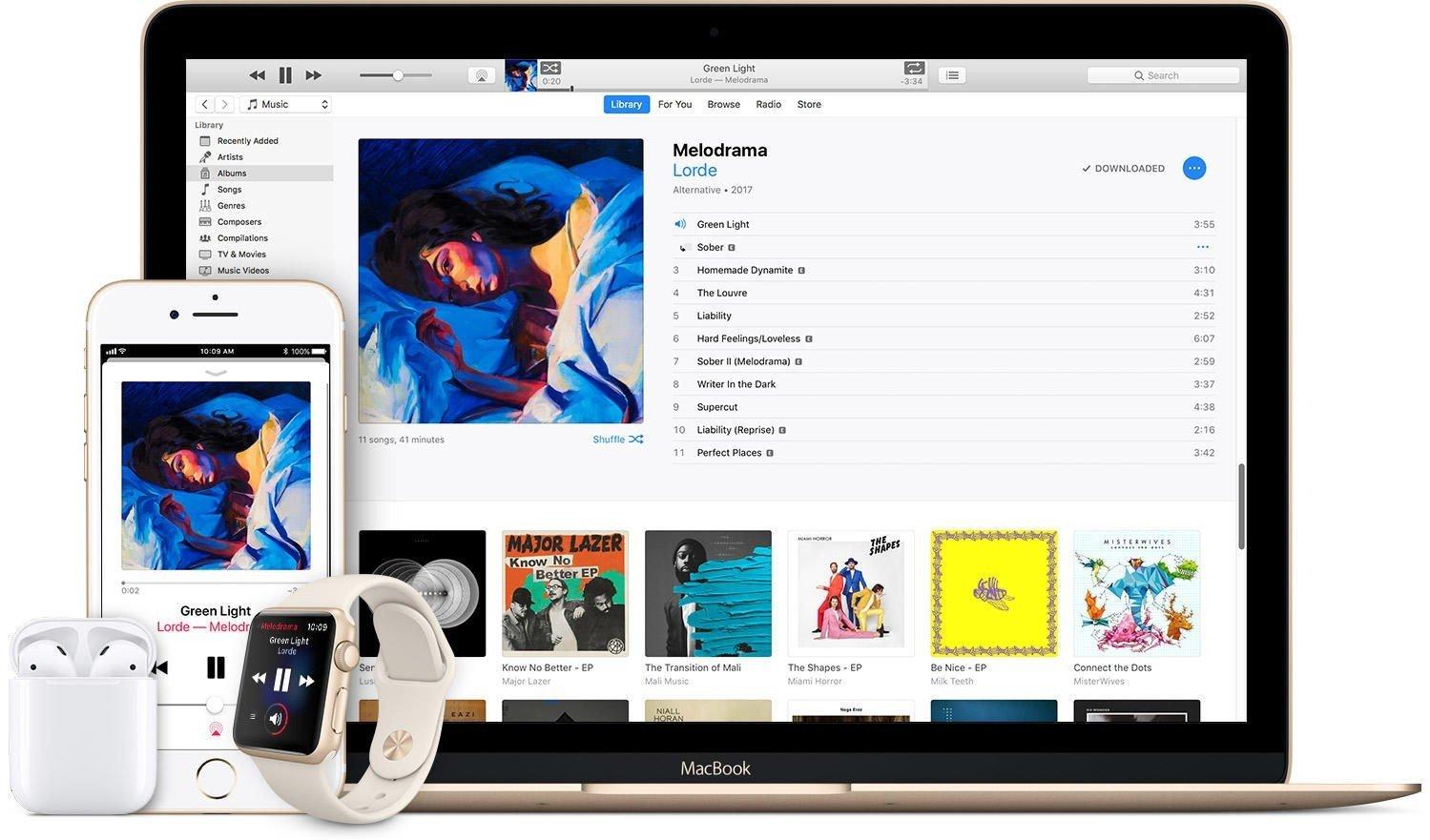 ITUNES ER HISTORIE: Nå kommer i stedet Apple Music, Apple Podcast og Apple TV.