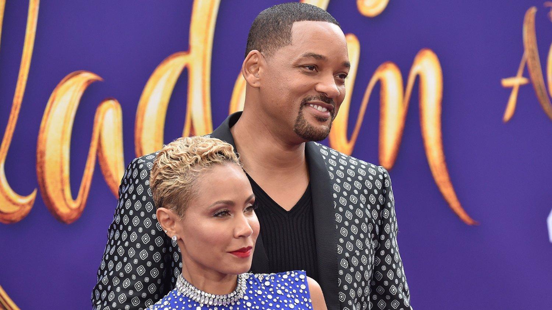 ÅPNER OPP: Smith-paret, Will og Jada Pinkett, åpner opp om problemene i forholdet. Her fra premieren på den nye «Aladdin»-filmen.
