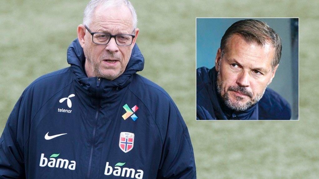 GIR SEG TROLIG: Landslagssjef Lars Lagerbäck er etter alt å dømme inne i sin siste kvalik som Norge-sjef. Som vanlig blir Kjetil Rekdal nevnt som en mulig etterfølger.
