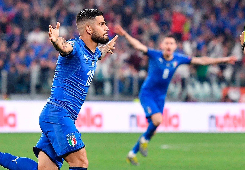 Lorenzo Insigne var sentral for Italia i 2-1-seieren over Bosnia-Hercegovina. Foto: Alessandro Di Marco / ANSA / AP / NTB scanpix