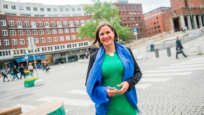 BILFRITT: Byråd Hanna Marcussen ønsker en bilfri bykjerne og vil bekjempe ethvert nytt veiprosjekt som gir økt kapasitet for biltrafikk - det gjelder også innfartsveiene som skal bringe bilister gjennom byen og videre.