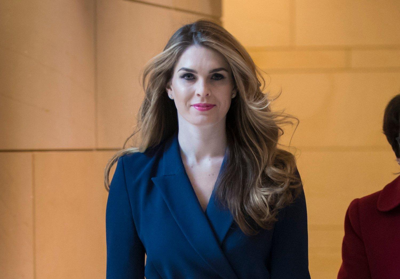 Hope Hicks dagen hun kunngjorde at hun trakk seg som Trumps fjerde kommunikasjonssjef i februar 2018 etter seks måneder i jobben. Hun var direktør for strategisk kommunikasjon i åtte måneder før det. Arkivfoto: J. Scott Applewhite / AP / NTB scanpix