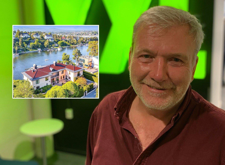 SELGER PÅ BYGDØY: XXL-gründer Øivind Tidemandsen er ute i markedet med en villa i den øverste prisklassen.