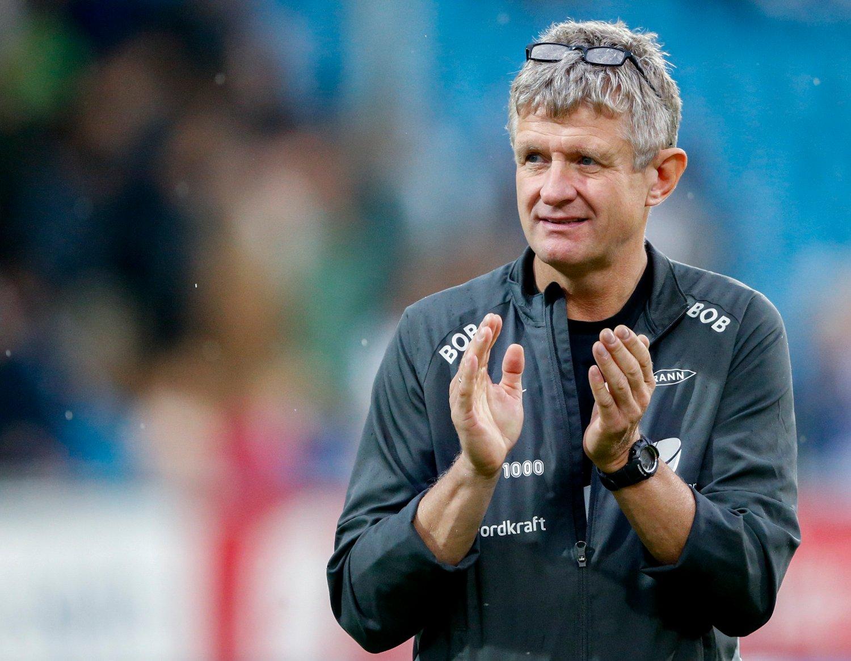 Branns-trener Lars Arne Nilsen forbereder europaligaspill. Foto: Jan Kåre Ness / NTB scanpix