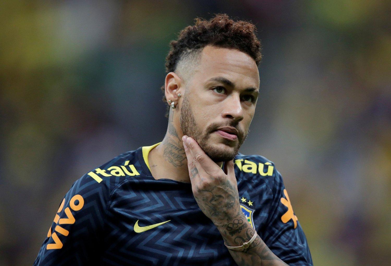 PÅ VEI BORT? Neymar.