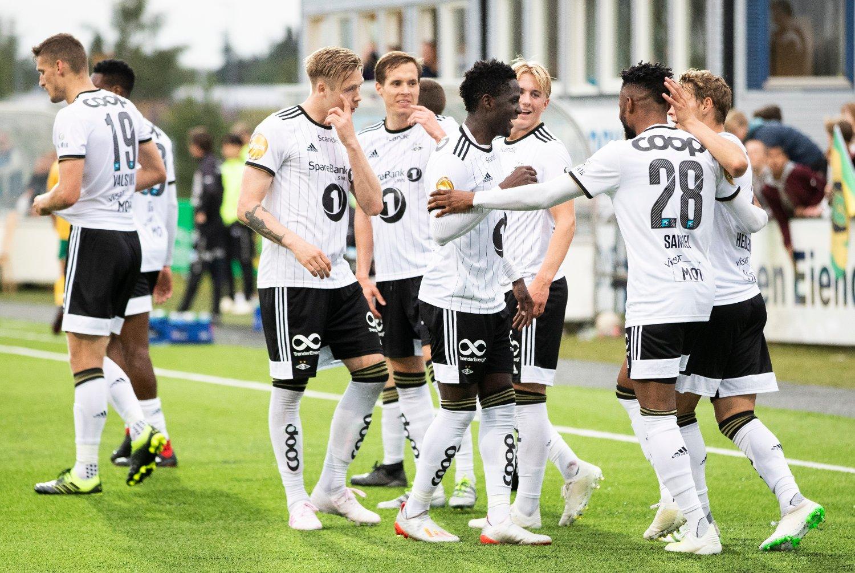 Rosenborg reddet avansementet til 4. runden mot Ull/Kisa. Foto: Berit Roald / NTB scanpix