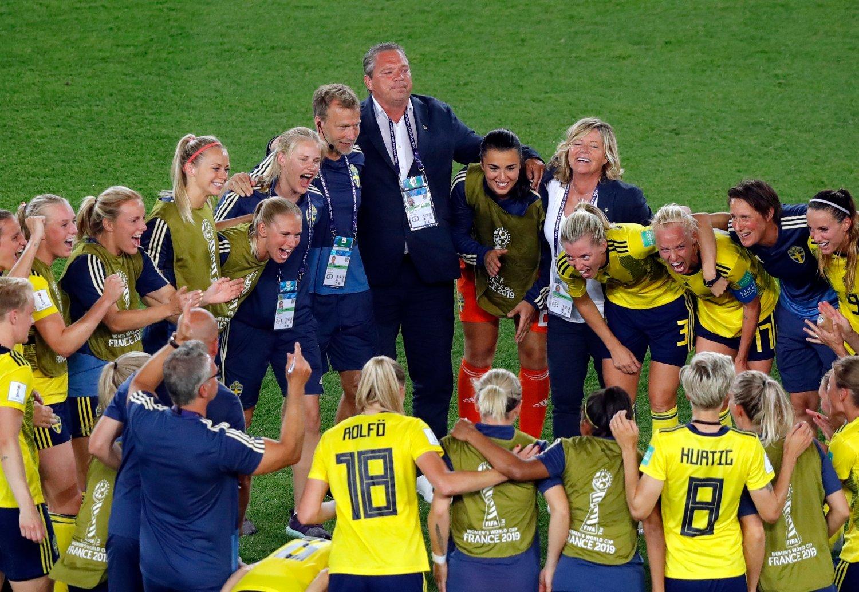adc83092f Fotball , Sport | Sverige både scoret og reddet på straffe da de tok ...