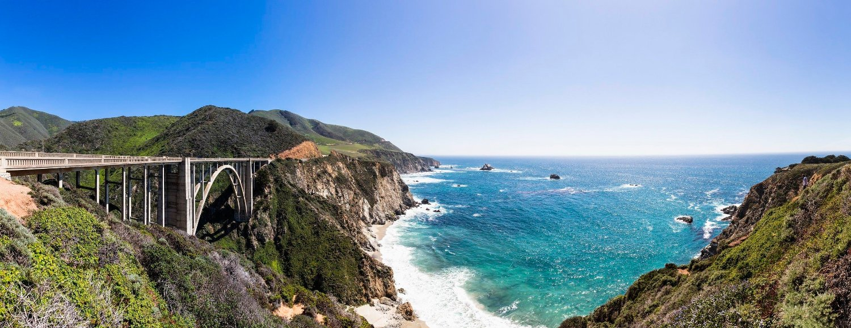 Det er naturlig å tenke på Los Angeles, San Francisco og storbyer hvis man sier California. Likevel: Dette er også California. Den nydelige Highway 1. Det vi kaller verdens beste biltur.