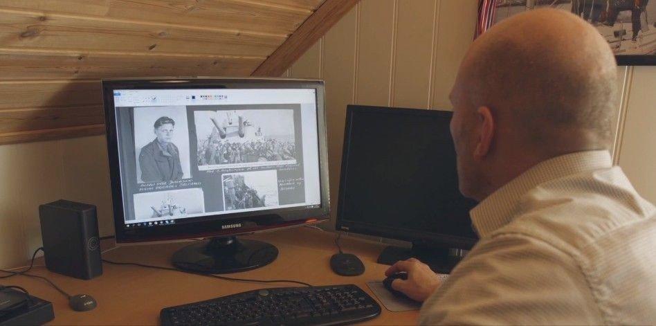 Ingen i familien visste det riktige navnet til Joar Larsson Bøs morfar før Joar begynte å søke opp informasjon på MyHeritage.