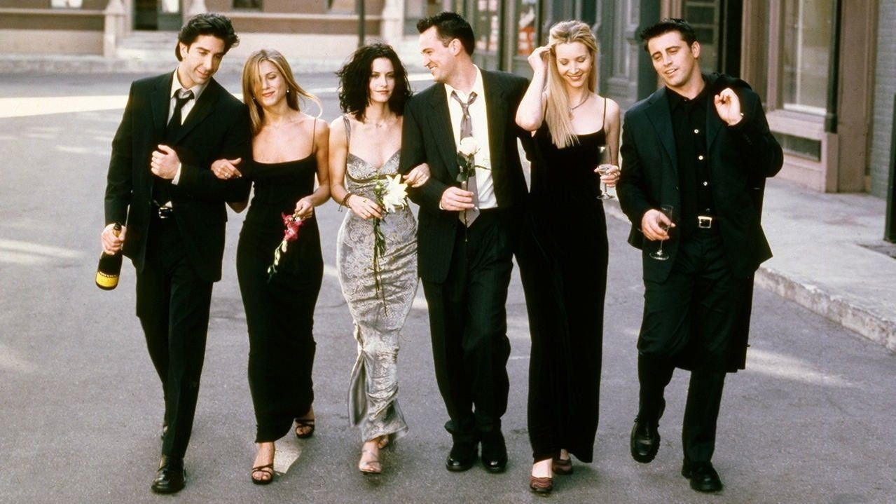 FLYTTER: Fra og med våren 2020 er ikke lenger «Friends» å finne på Netflix.