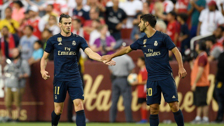 HØYT OG LAVT: Gareth Bale var tilbake for Real Madrid natt til onsdag.