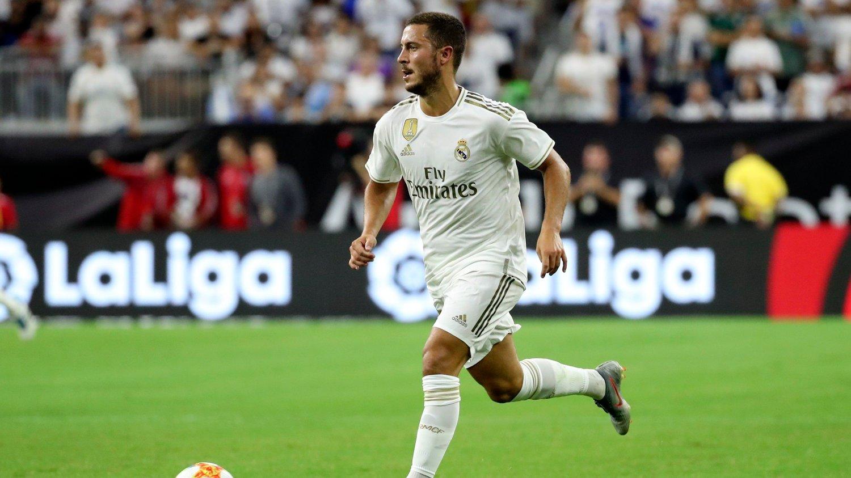 GOD OG RUND?: Den spanske avisen Sport hevder at Eden Hazard skal ha blitt ansett som overvektig av Real Madrid.