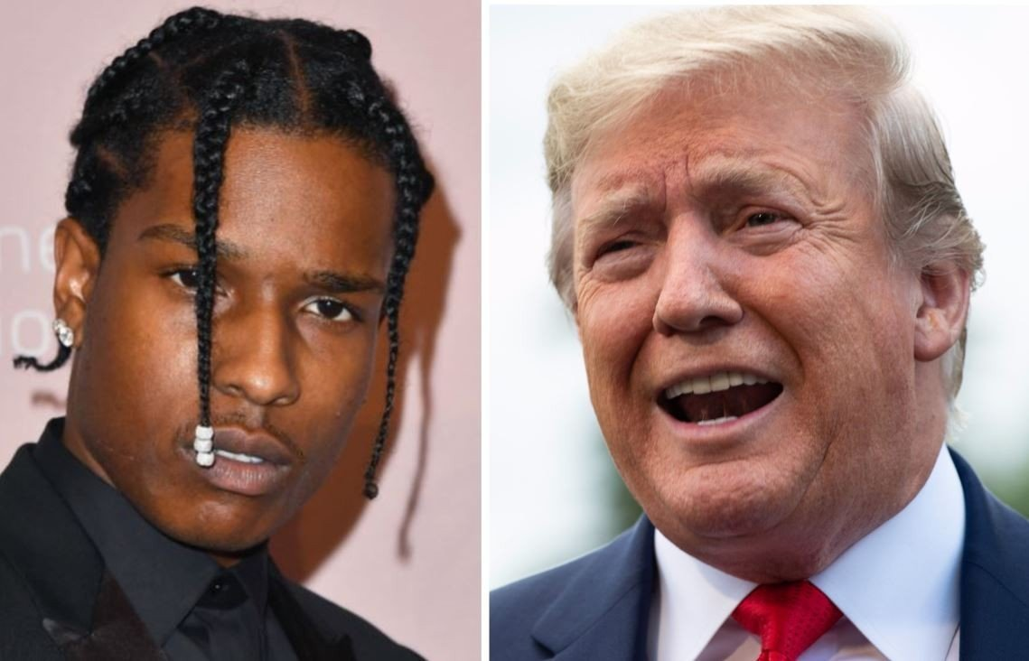 President Donald Trump (th) er smartere enn vi liker å tro, og vet godt hva han gjør når han forsøker å påvirke rettssaken mot rapperen A$AP Rocky i Sverige.
