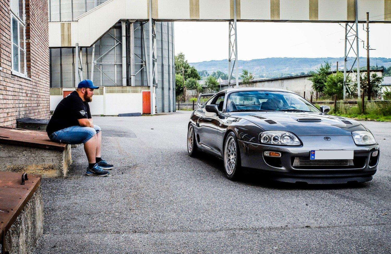 Kristoffer Braathen har drømt om Toyota Supra helt siden han så den første Fast And The Furious-filmen. Nå har drømmen så absolutt gått i oppfyllelse.
