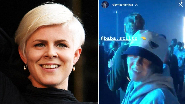 GIKK UNDERCOVER: Den svenske artisten Robyn fikk gå helt i fred under årets Øyafestival.