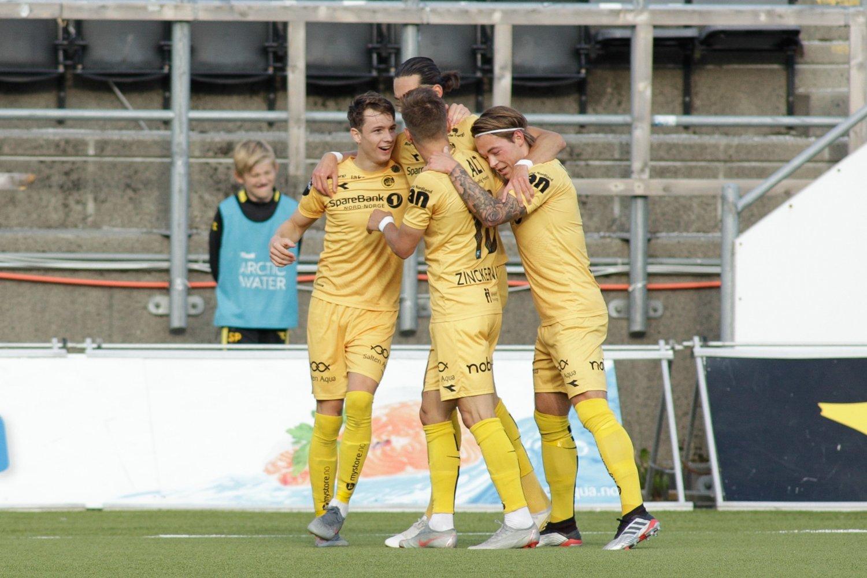 aa5e0f4b2 Fotball , Nasjonal toppliga | Bodø/Glimt holder koken i gullkampen ...